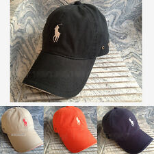 POLO Classic Embroidery Hats Outdoor Golf Tennis Baseball Driving Cap Snapback