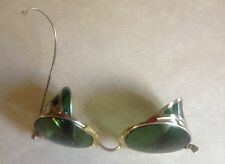 Vintage CESCO 24 Motorcycle Aviator Safety Glasses Goggles Steampunk