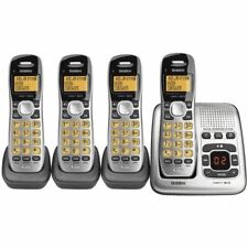 Uniden 1735+3 Cordless Phone with 4 Handsets