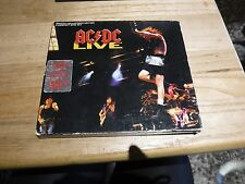 AC/DC Live Special Collectors Edition 2 CD with Rosie Poster Slip Case Excellent