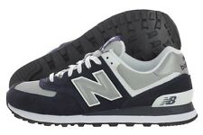 New Balance Classic M574BGS Navy Blue Grey Suede Mesh Shoes Medium (D, M) Mens