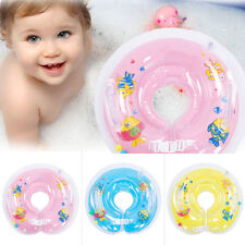 Inflatable Baby Swimming Neck Safety Bath Swim Pool Beach Float Ring+shipping