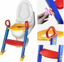 Boxed New Childrens Toddler baby Toilet Potty Training Chair Step Up Ladder Seat