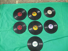 old gramophone records 7 in all