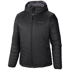 COLUMBIA MENS  BIG 2X MIGHTY LITE HOODED OMNI HEAT INSULATED LIGHT JACKET