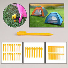 5/10/20/30pcs Heavy Duty Ground Pro Tent & Awning Camping Peg Pegs Nail Stakes