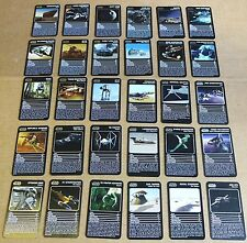 """MULTI-LIST SELECTION OF TOP TRUMPS """"SPECIALS STAR WARS STARSHIPS"""" SINGLE CARDS"""
