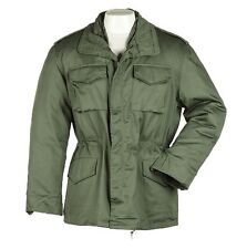 NEW! M65 Field Combat Jacket - Olive Drab Green Military Vietnam War Army Coat
