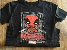 Funko Deadpool Marvel collectors corps 2016 t shirt Exclusive pop tee! SMALL