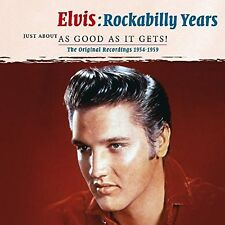 Rockabilly Years 1954-1959 Elvis Presley Audio CD