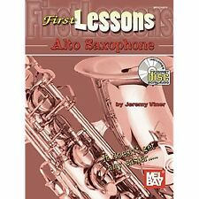 First Lessons - Alto Saxophone Bk/CD Jeremy Viner
