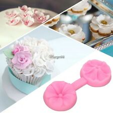 Silicone Flower DIY Cake Fondant Decorating Baking Mold Mould Sugar Craft UTAR