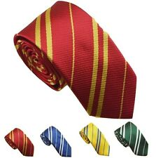 Harry Potter Tie Gryffindor Slytherin Ravenclaw Costume Accessory Halloween NEW