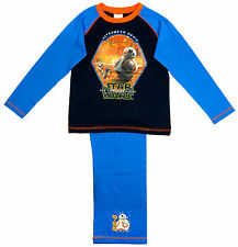 Boys Star Wars Astromech Droid BB-8 The Force Awakens Pyjamas 4 to 10 Years