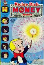 Richie Rich Money World #1 in Very Good condition. FREE bag/board