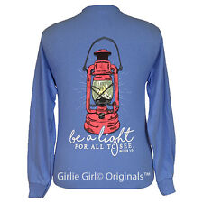 "Girlie Girl Originals ""Be A Light"" Long Sleeve Unisex Fit T-Shirt"