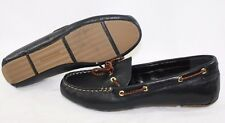 NEW Womens TOMMY HILFIGER Randra Black Mocassin Style Shoes Flats
