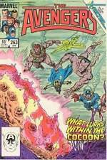 Avengers (1963 series) #263 in Very Fine + condition. FREE bag/board
