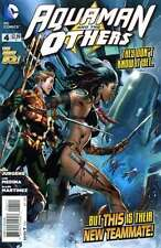 Aquaman and the Others #4 in Near Mint + condition. FREE bag/board