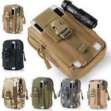 Belt Waist Pack Military Waist Molle Pouch Bag  Phone Pocket Tactical Fanny Pack
