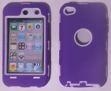 New Apple iPod Touch 4 4th Gen Impact DropProof Dual Layer Case Screen Protector