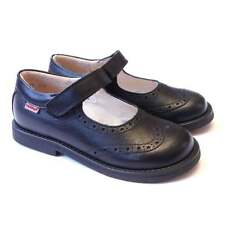 Girls Traditional Black Leather Mary Jane School Shoes | Froddo G3140006-6