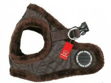 Puppia VEST STYLE Fleecy Dog Harness  - DIAMOND BROWN - LARGE