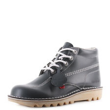 Mens Kickers Kick Hi M Core Navy White Natural Lace Up Ankle Boots Uk Size