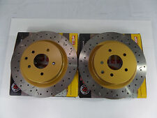UC295 (Rear Pair) DBA 4000 XS Series Rotors Fits 03-09 350Z with Brembo rear