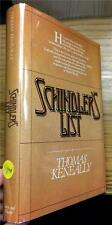 SCHINDLERS LIST THOMAS KENEALLY SIGNED COPY ! FIRST EDITION WITH JACKET