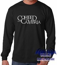 """T-SHIRT BLACK SLEEVE LONG""""COHEED AND CAMBRIA""""LONG SLEEVE T-SHIRT BLACK"""