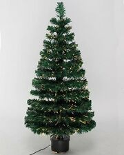 Fibre Optic Twinkling Christmas Tree – Green – various sizes