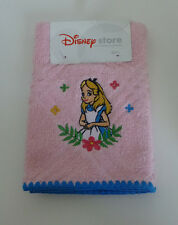 HTF Japan Disney Alice in Wonderland Flowers Pink Small Hand Towel / Wash Cloth