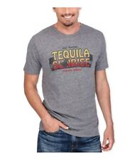 Lucky Brand Mens Tequila Sunrise Graphic T-Shirt