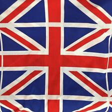 """Printed Large Union Jack Flag 100% Cotton Fabric Material 150cm 60"""" wide"""