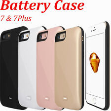 Backup Battery Charger External Power Bank Pack Cover Case for iPhone 7 / 7 Plus
