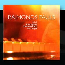 Pauls Plays Popular Christmas Songs Raimonds Pauls CD