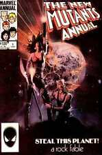 New Mutants (1983 series) Annual #1 in Very Fine + condition. FREE bag/board