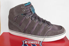 K - Swiss Men's Ankle Boots Boots Boots Half-shoe Leather/Nylon grey new