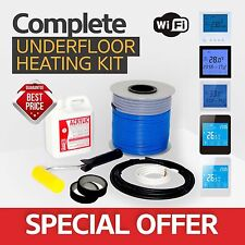 Electric underfloor heating loose cable kit 5.6-7.0m2