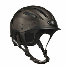 Tipperary Sportage 8500 Riding Helmet - GREY & BROWN - Size: X-Small XS