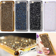 Luxury Bling Rhinestone Glitter Crystal Hard Back Case Cover For iPhone 7 7 Plus