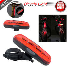 Waterproof 5 LED 3 Mode BIKE BICYCLE Cycle Rear Back TAIL Light Lamp Taillight