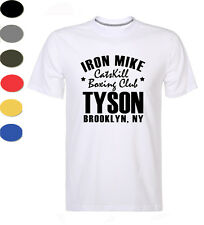 Brooklyn Iron Mike Tyson T Shirt Legend Catskill Boxing Gym Training Top For Men