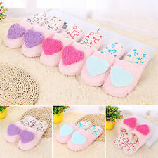 Women Plush Cozy Slippers Lightweight Indoor Home Floor Slippers Casual Shoes