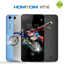 "Homtom HT16 Android 6.0 5.0"" Dual SIM Smartphone MTK6580 1G+8GB Quad Core GPS BT"