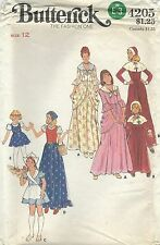 Butterick 4205 Misses' Costumes   Sewing Pattern