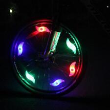 Colorful Bicycle Bike Cycling Spoke Wire Tire Tyre Wheel LED Bright Lamp Light
