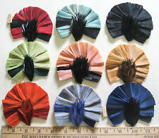 Vintage Antique Feather Millinery trim made in France 3248 costume hats retro