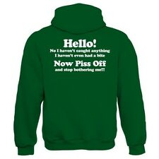 No I Haven't Caught Anything Mens Funny Fishing Hoodie - Carp Coarse Gift Dad